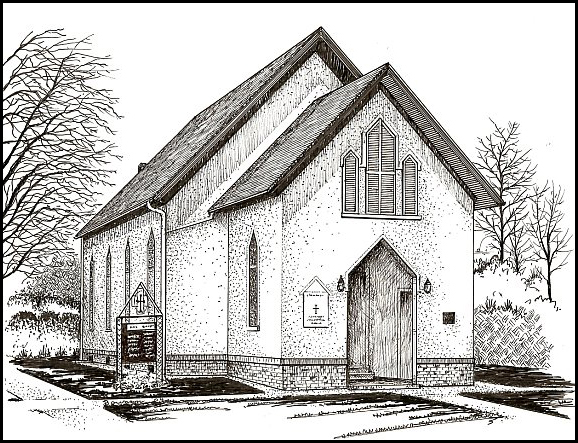 LaPorte New Church Sketch